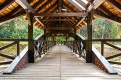 Wooden Bridge Stock Photography