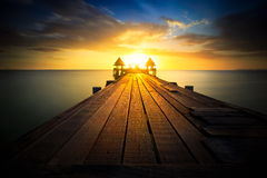 Free Wooden Bridge Stock Images - 56546904