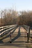 Wooden Bridge royalty free stock photo
