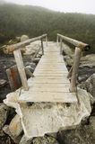Wooden bridge Royalty Free Stock Image