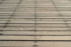Wooden bridge background at sea Royalty Free Stock Photography