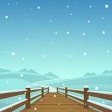 The wooden bridge Stock Photo