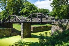 Wooden Bridge, Harpers Ferry, West Virginia Stock Images