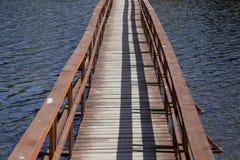 Wooden bridge Royalty Free Stock Image