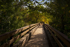 Wooden Bridge in Sedona, Arizona Royalty Free Stock Photo