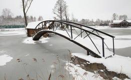 The wooden bridge Stock Photography