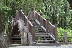 Wooden bridge Royalty Free Stock Photos
