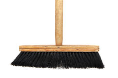 Wooden Broom Stock Image