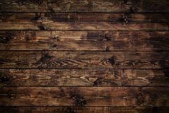 Wooden Brown Background Stock Image