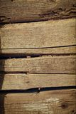 Wooden brown background of old wood stock photo