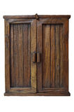 Wooden brown cabinet Royalty Free Stock Photography
