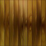 Wooden brown pattern of gold-colored boards. Royalty Free Stock Photography