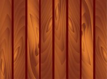 Wooden brown Planks Background. Garden fence, fencing, guardrail. St. Patrick Day, march, spring, wall, wood, floor, texture. Vect. Vector EPS 10 Wooden brown Royalty Free Stock Photo