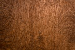 Wooden brown texture over the whole frame Royalty Free Stock Photo