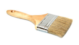 Wooden brush. Royalty Free Stock Photo
