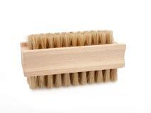 Wooden brush Stock Photo