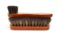 Wooden brushes Stock Images