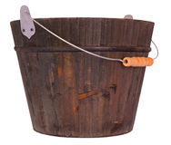 Wooden bucket Stock Photo