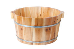 wooden bucket Stock Image