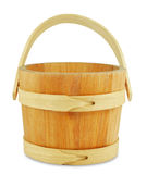 Wooden bucket Stock Photography