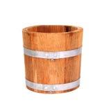 Wooden bucket. Royalty Free Stock Photos