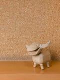 Wooden Buffalo doll. Thail style Stock Photos