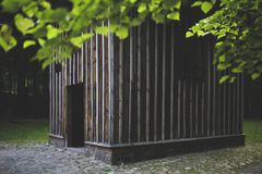 Wooden building Stock Image