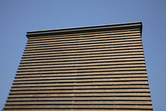 Wooden building. Built of planks Royalty Free Stock Images