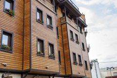 Wooden building. Royalty Free Stock Photo