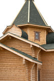 The wooden building Royalty Free Stock Images