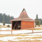 Wooden building Stock Photography
