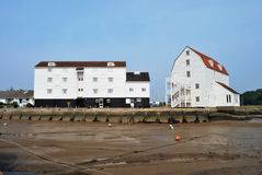 Wooden buildings at woodbridge Stock Photography