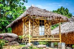 Wooden bungalow resort in ko phi phi island, Thailand Stock Photography