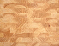 Wooden Butcher's Block Background Stock Photos