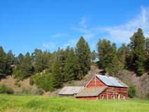 Wooden cabin Royalty Free Stock Photo