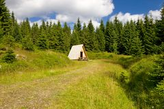 Wooden cabin Royalty Free Stock Photos