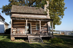 Wooden cabin in HDR Royalty Free Stock Image