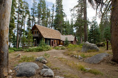 Free Wooden Cabin In Scenic Forest Stock Photo - 7610650