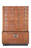 Wooden Cabinet Royalty Free Stock Image