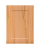 Wooden cabinet door Stock Image