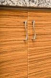 Wooden cabinet door Stock Photo