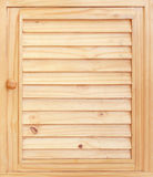Wooden cabinet doors Royalty Free Stock Images