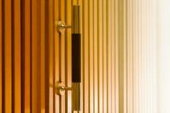 Wooden cabinet doors Royalty Free Stock Photos