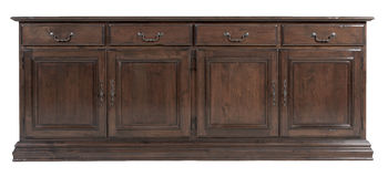Wooden cabinet Royalty Free Stock Photography