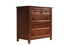 Wooden cabinet Royalty Free Stock Photos