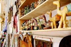 Wooden camel souvenir Royalty Free Stock Photography