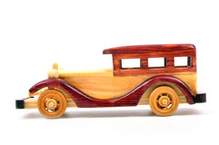 Wooden car Royalty Free Stock Image