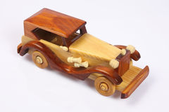 Wooden car Royalty Free Stock Images