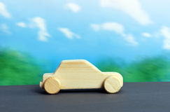 Wooden car Stock Photography