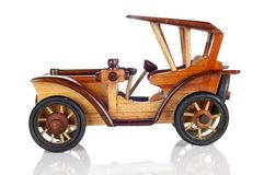 Wooden Car Toy Stock Images